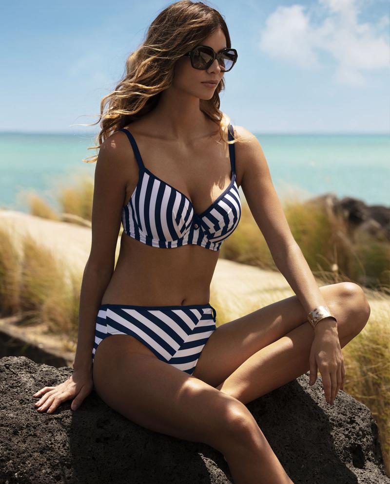 Fantasie Cote D Azur in ink balcony bikini