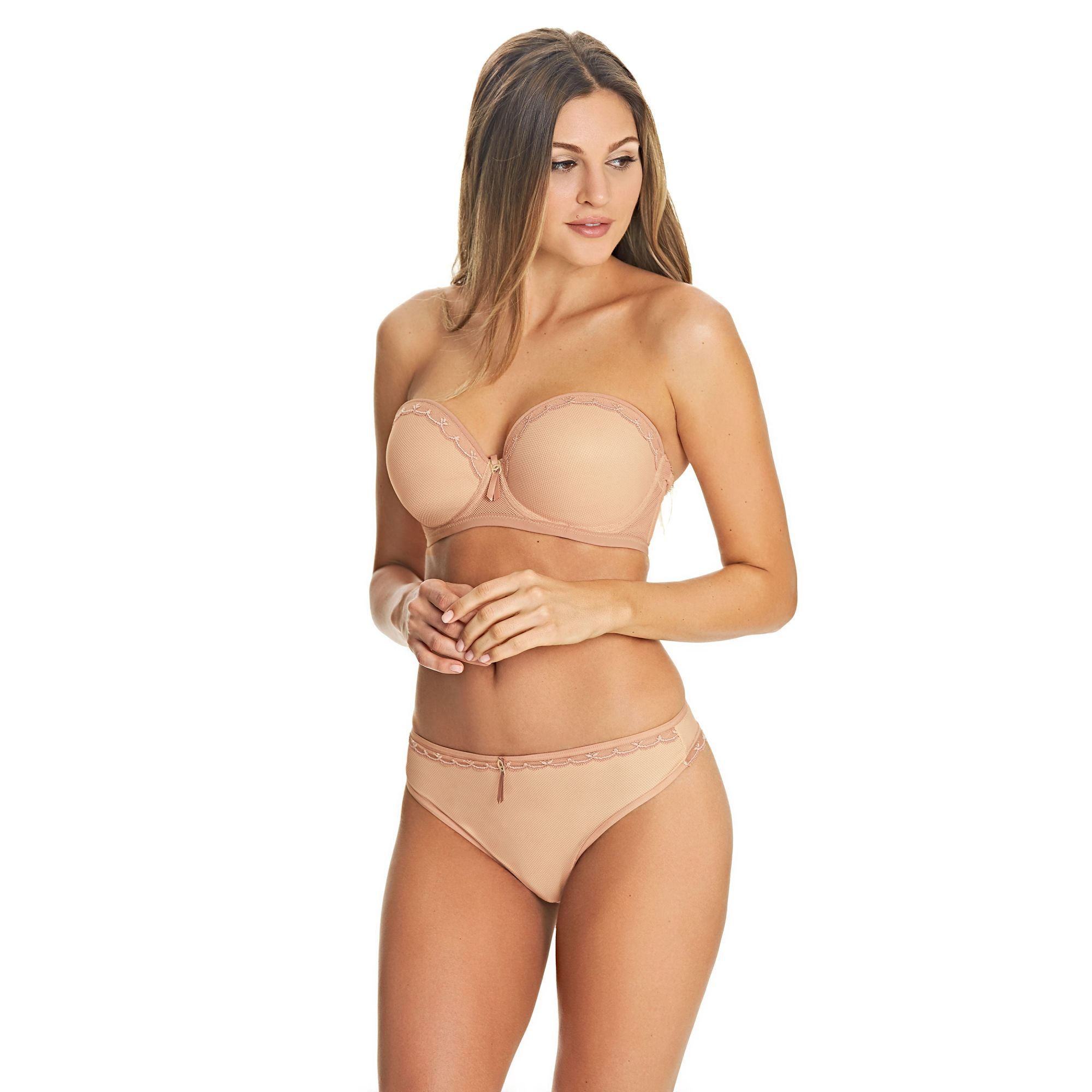 Freya Allure strapless in nude