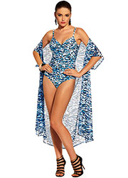 Roidal swimsuit and coverup in africa